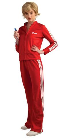 Sue Red Tracksuit costume