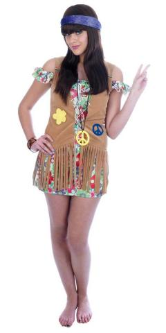 Flower Power Girl Costume