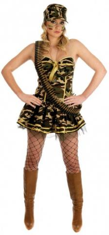 Commando Girl Costume