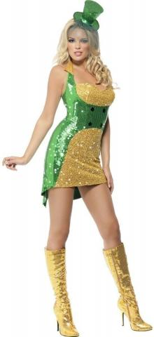 Teen St Paddy's Day Bling Costume