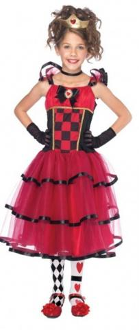 Wonderland Queen Costume - Kids