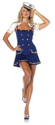 Ship Shape Captain Costume