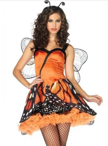Lovely Monarch Costume