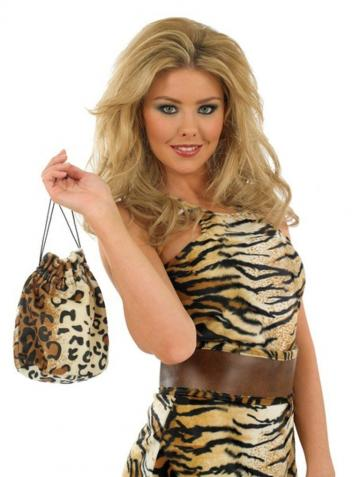 Cave Girl Pouch Bag
