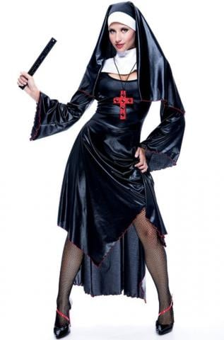 Sexy Naughty Nun Costume