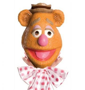 Fozzie Bear Latex Mask