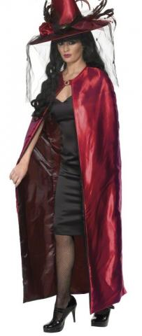 Deluxe Cape - Red/Black