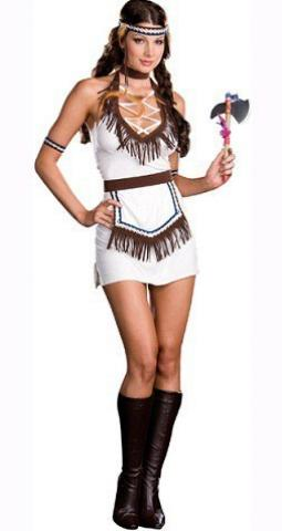 Ladies Knock Out Native Costume