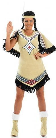 Indian Scout Ladies Costume