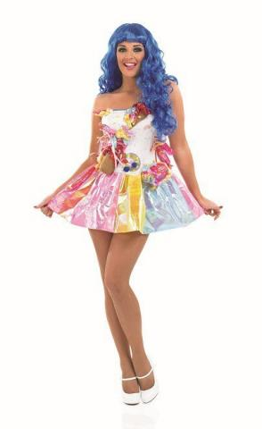 Ladies Sweet Pop Star Costume
