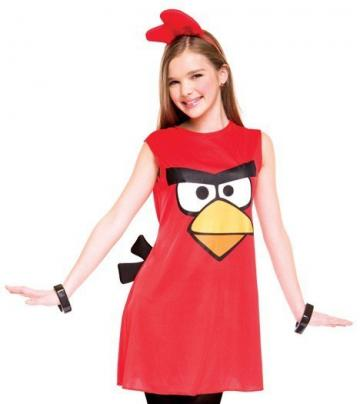 Teen RED Angry Bird Fancy Dress