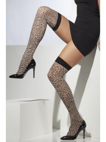 Leopard Print Stockings