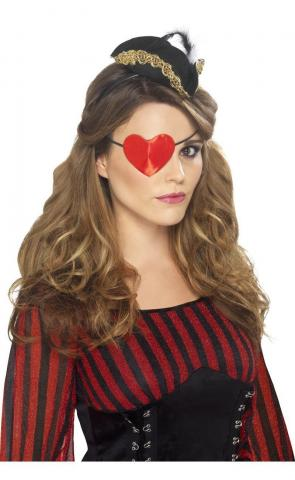 Heart Shaped Eye Patch