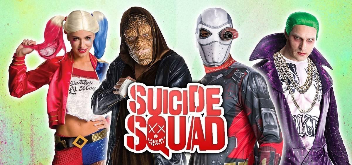 Suicide Squade Costumes
