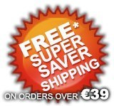 Free Super Saver Shipping Orders over €39