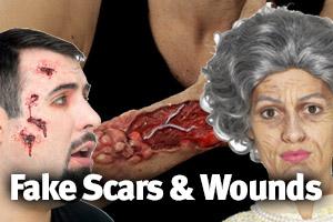 Fake Scars & Prosthetics