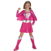 Supergirl pink costume