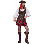 high seas buccaneer female pirate