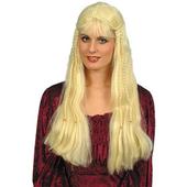blonde wig braids