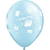 Light Blue Baby Boy Balloon