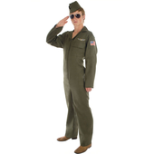 Mens aviator costume
