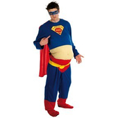 Fat Super Hero costume