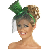 Green Mini Top Hat
