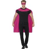 pink cape & eyemask