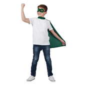 superhero cape & mask
