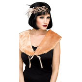 1920's Flapper Stole - Nude