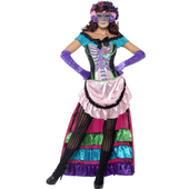 day of the dead Sugar Skull costume
