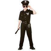 New york cop teen costume