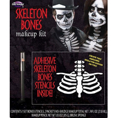 Skeleton Bones Makeup Kit