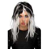 Two-Tone Streak Wig