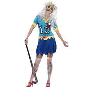 Hockey Player Zombie Costume