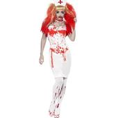 Blood Drip Nurse Costume