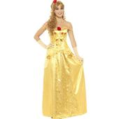 golden prrincess costume