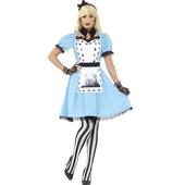 Deluxe Dark Tea Party Costume
