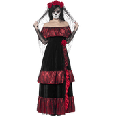 plus size Day of the Dead Bride Costume