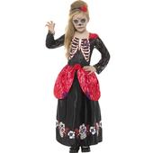 Tween Day Of The Dead girl costume - Kids