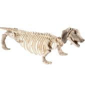 Daschund Dog Skeleton Prop