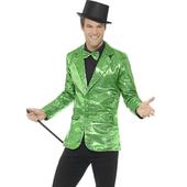 green Sequin Jacket