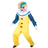 scary male clown costume
