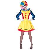 scary clown girl costume
