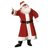 old fashioned santa suit