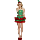 Miss Fever Elf Costume