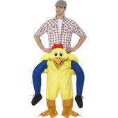 Piggyback Chicken Costume