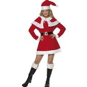 Miss Santa Fleece Costume