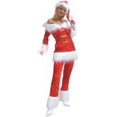 ladies santa suit
