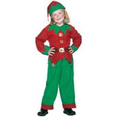 Unisex tween elf costume